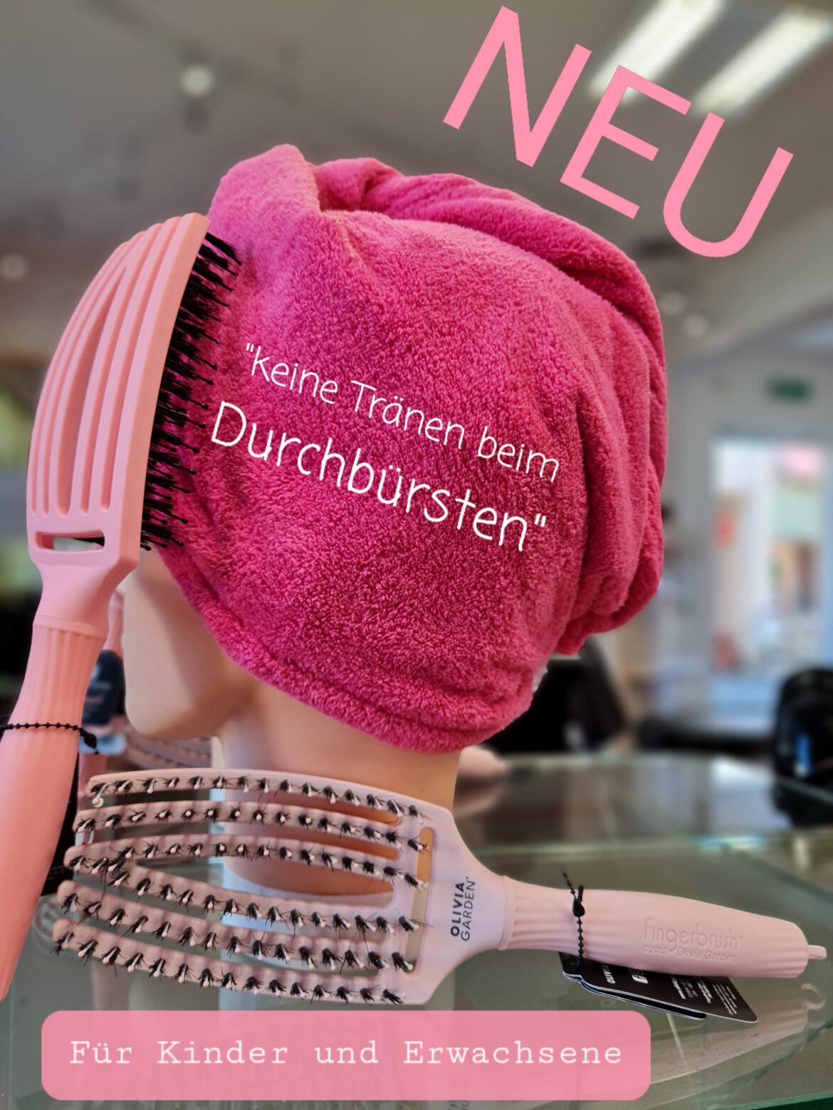 Neue Haarbürste